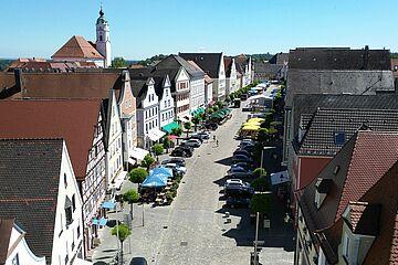 Marktplatz Günzburg / Foto: Stadt Günzburg