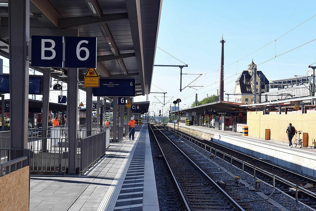 Köln Hbf Gleis 6 Und 7