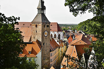 Landsberger Altstadt / Bild: Stadt Landsberg am Lech