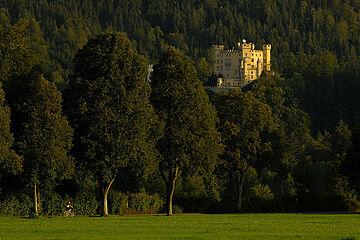 Schloss Hohenschwangau / Bild © Füssen Tourismus und Marketing / www.guenterstandl.de
